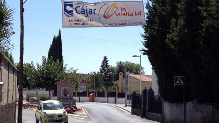 La Vuelta pasará por Cájar, entre otras localidades del 'Cinturón'. Foto: José Miguel Olivencia
