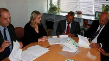 La Diputación firma los convenios de cooperación con municipios del norte de Marruecos