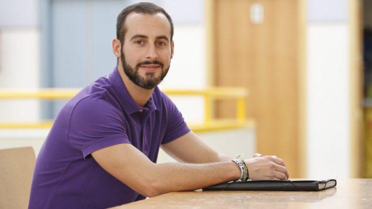 Pablo Seller ha descubierto su vocación a los 29 años. Foto: Álex Cámara