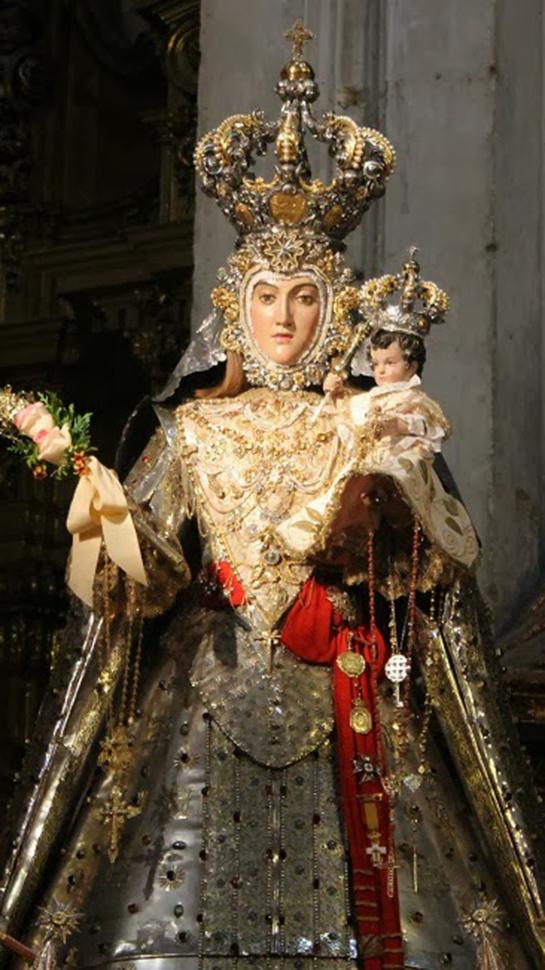 Ahora Granada Los Cultos A La Virgen Del Rosario Desde