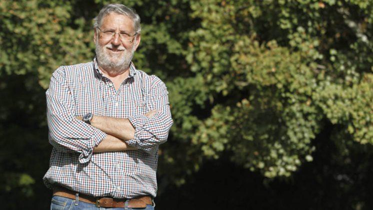 El periodista Andrés Cárdenas. Foto: Álex Cámara