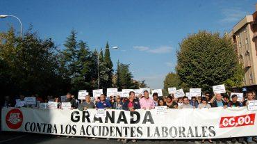 Los sindicatos denunciarán la muerte del trabajador de la construcción en Granada