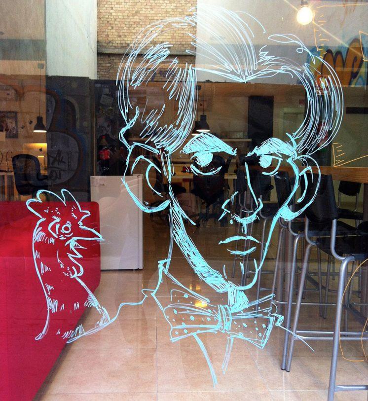 Lorca fue el protagonista indiscutible de la noche. Foto: aG