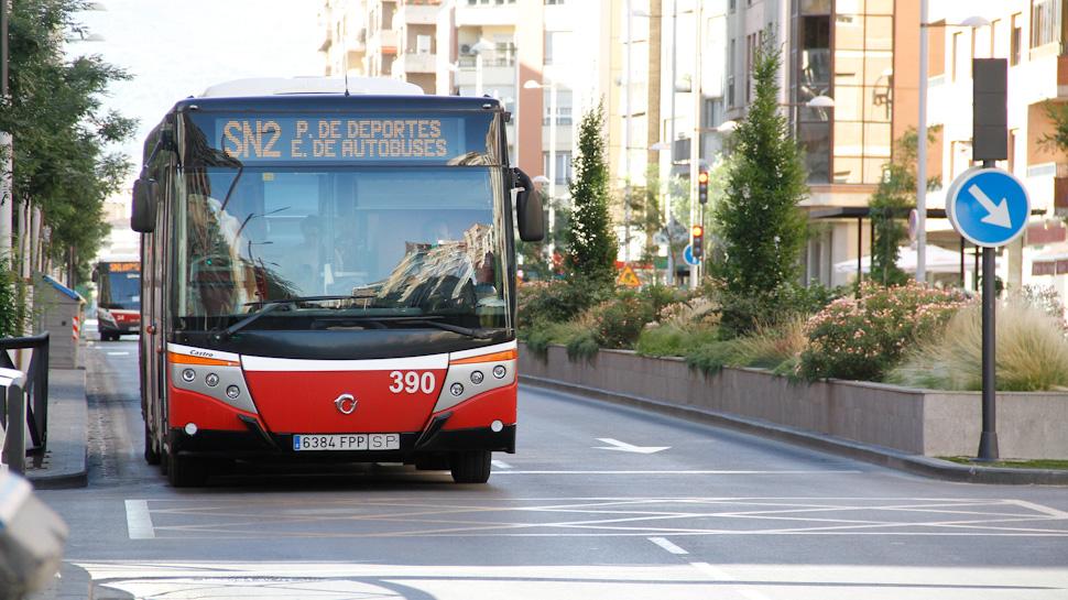 Nuevas lineas de autobuses granada