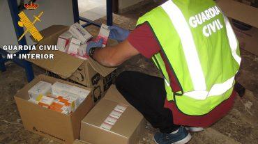 Desmantelada la mayor red de tráfico ilícito de medicamentos para su exportación con epicentro en almacenes de Granada