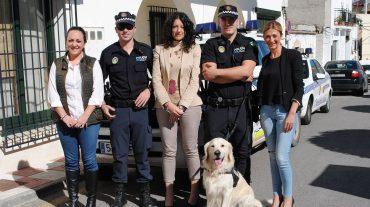 Se crea en Otura la primera Unidad Canina de la Policía Local