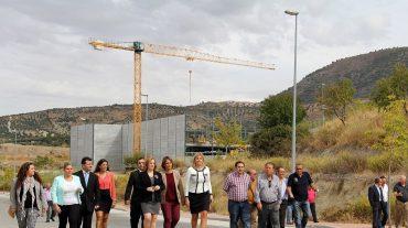 El polígono industrial de Alfacar queda abierto a las empresas tras la construcción de los servicios y canalizaciones