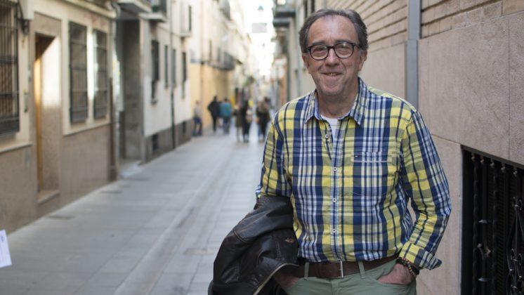 Francisco Barajas presenta su novela este martes en el Ayuntamiento de Granada. Foto: Alberto Franco