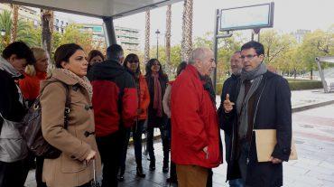 El PSOE apoya a los vecinos del Violóny exige al alcalde una solución al ruido y caos por la LAC