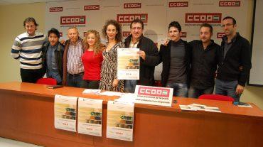 CCOO y la Escuela de Flamenco de Andalucía impartirán cursos de cante, baile, guitarra y percusión