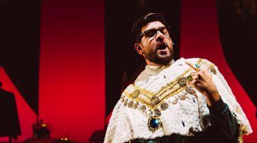 Manu Sánchez presenta su espectáculo 'El rey solo'