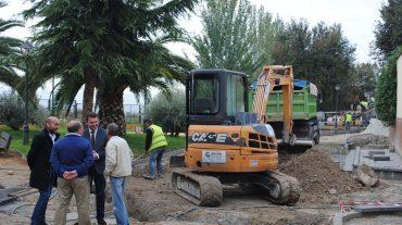 Avanza la remodelación de la zona alta del Barranco de San Jerónimo