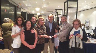 El PP entrega al Banco de Alimentos lo recaudado en su comida solidaria del Corpus