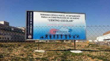 El Ayuntamiento de Churriana exige el inicio inmediato de las obras del colegio proyectado que acabe con los barracones