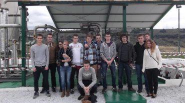 Universitarios Erasmus procedentes de Polonia visitan la Planta de Biogás de Granada