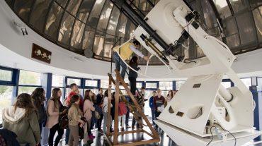 Estudiantes de toda Andalucía siguen en directo desde el Parque de las Ciencias el primer aterrizaje de un cometa sobre la superficie