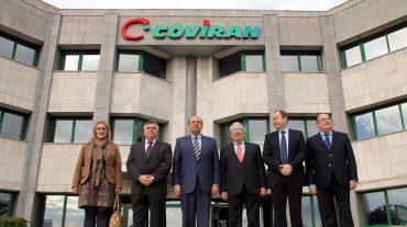 Sebastián Pérez propondrá la concesión de la Medalla de Oro de la Provincia a Covirán