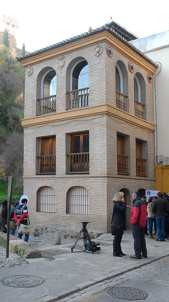 La Ca Casa de las Chirimías está ubicada a los pies de la Alhambra. Fotos: Javier Algarra