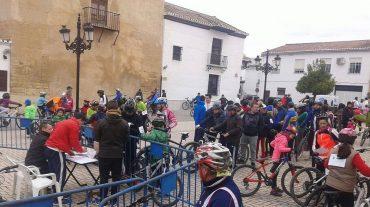El 'Día del Pedal' de Las Gabias bate su récord de participación con más de 300 ciclistas