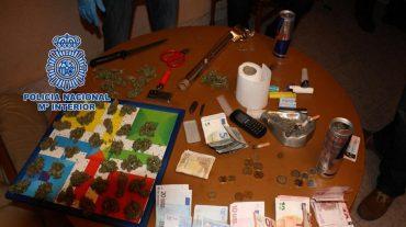Desmantelado un punto negro de venta de droga en las inmediaciones de varios centros educativos