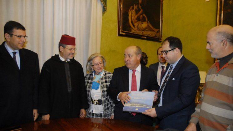 Torres Hurtado recibió a los empresarios de Tetuán en el Ayuntamiento. Foto: aG