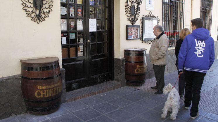 El restaurante ha estado cerrado como consecuencia del duelo de la familia. Foto: Álex Cámara