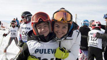 Sierra Nevada celebra el XI Trofeo Maria José Rienda de esquí alpino infantil