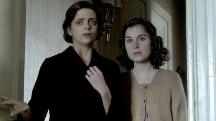 Macarena Gómez y Nadia de Santiago en 'Musarañas'. Fuente: twitter de Álex de la Iglesia.