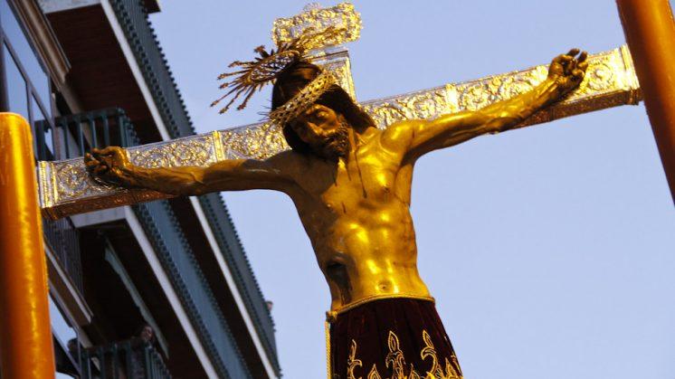 El Santísimo Cristo de San Agustín. Foto: Álex Cámara ©