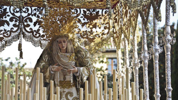 María Santísima de la Encarnación, de la Hermandad del Cautivo. Foto: Alejandro Romero ©
