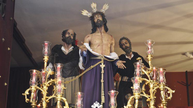 Jesús Despojado de sus Vestiduras, de la Hermandad del Despojado. Foto: Alejandro Romero ©