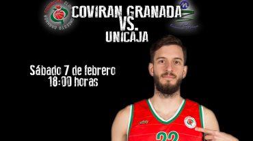 El Covirán Granada defiende el liderato frente al Unicaja