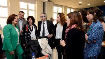 Sánchez Rubio destaca la importancia de la Escuela de Pacientes para que las personas conozcan su enfermedad y mejoren