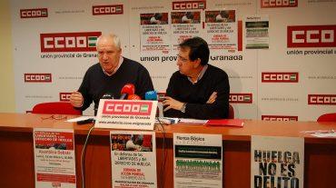 Carbonero llama a la ciudadanía para que se sume a la manifestación del 18F