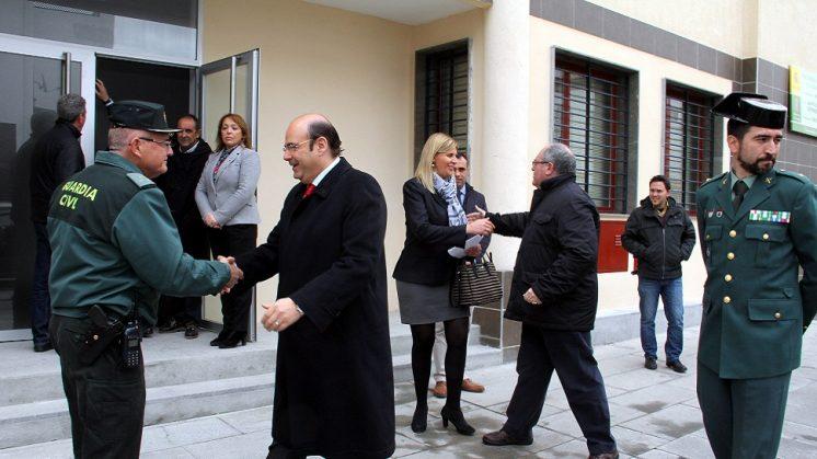 Diputación pone a disposiciónde la Guardia Civil las instalaciones delcuartel de Armilla