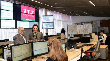 Los profesionales del 112 celebran el Día Europeo de este teléfono único de emergencias