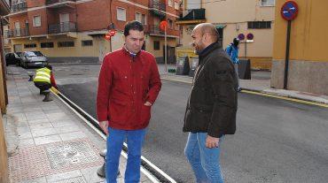 Diez mil metros cuadrados de nuevo asfalto en Maracena