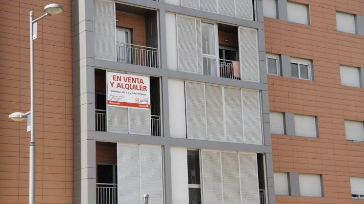 El número de viviendas que ahora están sin ocupar se reducirá un 45%. Foto: Álex Cámara (archivo)