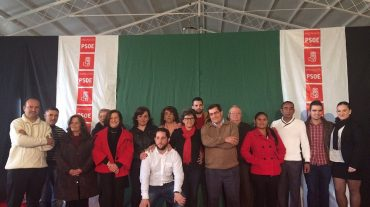 Sánchez Rubio apoya a los socialistas de Láchar en la presentación de la candidatura de la alcaldesa María Angustias Viedma