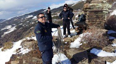 La Policía Autonómica rescata a dos montañeros en Sierra Nevada