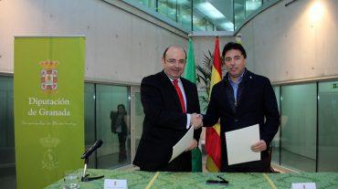 La Diputación y el Granada CF refuerzansu colaboración