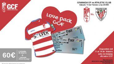 Un 'Love Pack' del Granada CF para San Valentín
