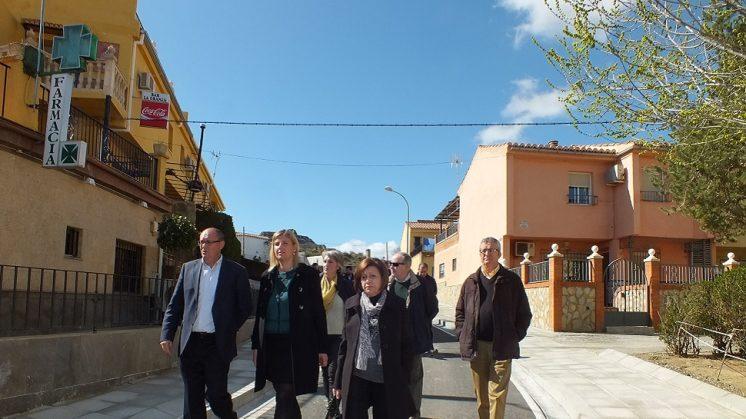 Diputación y Ayuntamiento deGuadix completan la segunda fase delas obras de la barriada de Andalucía