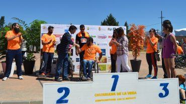Éxito de participación de la 1ª Carrera Inclusiva 'Churriana Integra'