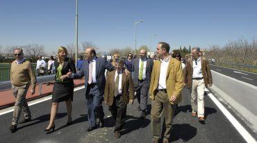 Inaugurada la nueva carretera de acceso a La Zubia