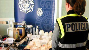 Desmantelado un laboratorio de cocaína en La Zubia con un detenido