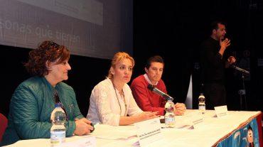 La Diputación traslada en Albolote su apoyo a Asprodes