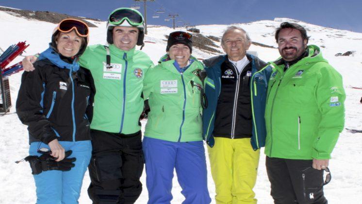 La incorporación de Carolina Ruiz se produce a menos de dos años de los Campeonatos del Mundo de Snowboard y Freestyle que albergará Sierra Nevada. Foto: aG