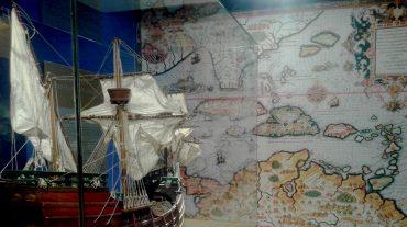Una exposición permanente muestra los detalles del viaje de Colón en el que descubrió América