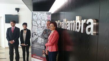 El teatro Alhambra acoge una exposición compuesta por más de setenta dibujos sobre dramaturgos andaluces